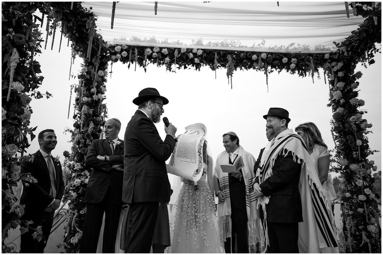 matrimonio ebraico